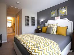 Bedroom: Gray And Yellow Bedroom Fresh Yellow And Grey Bedroom Idea Chevron  Throw I Love
