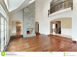 Two Story Living Room Decorating Two Story Living Room Fireplace Stock Photos Images Pictures