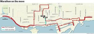 Toronto Waterfront Marathon Elevation Chart Scotiabank Toronto Waterfront Marathon Gets A New Path