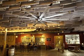 large silent ceiling fans and lights for bars and restaurants from big ass fans