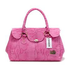 Coach Embossed Lock Medium Pink Satchels DED Regular Price   69.99