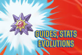 Pokemon Lets Go Starmie Guide Stats Locations Evolutions