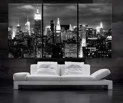 black and white canvas wall art 3 panels art canvas print beautiful new york city skyline black white wall home on new york city skyline canvas wall art with wall art designs black and white canvas wall art 3 panels art