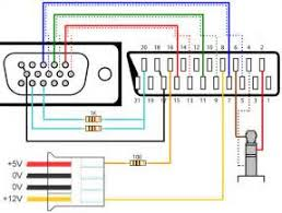 scart to vga converter circuit diagram images vga to scart video cable schematics geocities ws