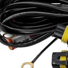 off road light wiring harnesses connectors at carid com reinforced wiring · driving lights wiring