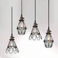 cable pendant lighting. delighful cable black twisted cable unique american style edison pendant lightvintae bird  cage decoration lamp for cable pendant lighting