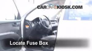 interior fuse box location kia sportage kia 2005 2010 kia sportage interior fuse check