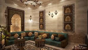 Moroccan Sitting Room On Behance Classical Interior Pinterest
