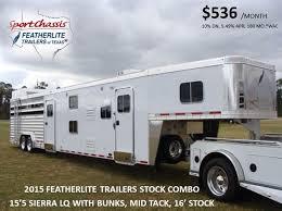 2016 featherlite 8413 stock combo