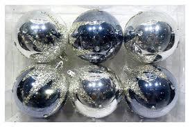 <b>Набор шаров Новогодняя сказка</b> 972926 Серебристый