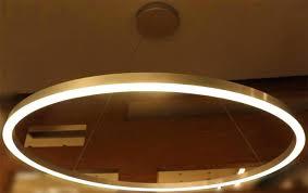 circular led chandelier modern
