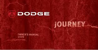 2009 Dodge Journey Warning Lights 2009 Dodge Journey Owners Manual