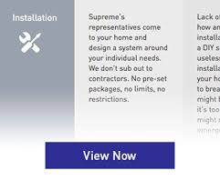 Supreme Security Systems Infographics