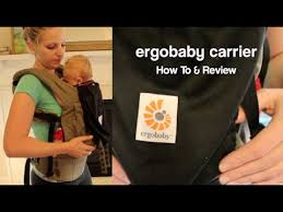 ErgoBaby Original Baby Carrier - REVIEW & HOW TO Use with Newborn ...