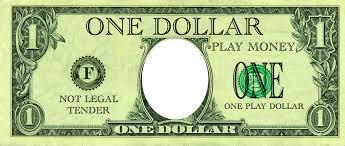Money Bill Template Realistic Play Money Templates Free Printable Play Money Templates