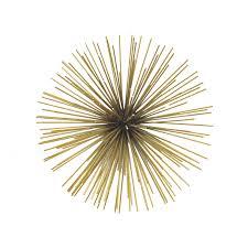 lofty design sunburst wall art elegant decor idea and decorations set of 3 diy wire
