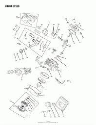 Honda gx240 parts diagram oregon honda parts diagram for honda gx160