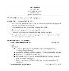 Deli Attendant Sample Resume Interesting Secretary Job Description Resume Unit Secretary Resume Deli Clerk
