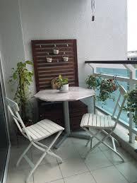IKEA Applaro bench and wall panel and IKEA Malaro chairs ...
