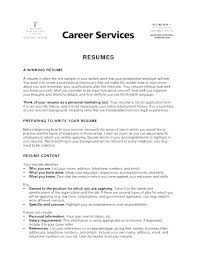 Examples Of College Application Resumes Student Resumes For College