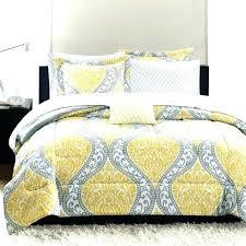 gray chevron bedding grey yellow bedding feminine damask grey and yellow bedding sets duvet set nursery