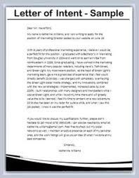 letter of intent job sample letter of intent for job 1541 ricardo800 job application sample