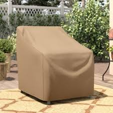 Furniture covers for chairs Outdoor Wayfair Basics Patio Chair Cover Wayfair Patio Furniture Covers Youll Love Wayfair