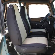 jeep wrangler yj seat covers fit jeep wrangler 1991 1992 1993 1994 1995 with non
