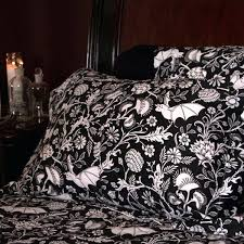 gothic bedding sets bedding and decor dark by sin in linen inside duvet cover plans gothic gothic bedding sets