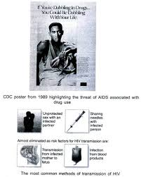 essay on hiv aids signs symptoms and prevention cdc poster from 1989 highlighting the threat of aids associated drug use the most