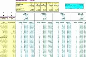 Credit Card Payment Calculator Excel Beautiful Credit Card Interest