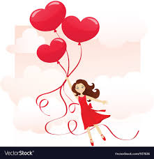 Love is in the air Royalty Free Vector Image - VectorStock