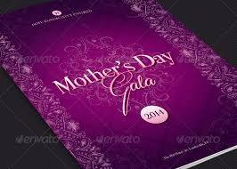 Mothers Day Gala Program Template Inspiks Market