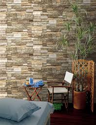 Small Picture Brick Wall Wallpaper India Custom Floral 3d Wallpaper Wall