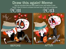 Before and After meme 6: Ruby Gloom edition by CandiedJellyfish on ... via Relatably.com