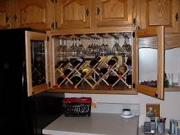 Built In Wine Rack Above Fridge Home Design Ideas