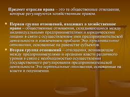 Предмет и метод предпринимательского права Курсовая работа  Предмет предпринимательского права курсовая работа