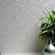 brewster wallcovering anaglypta 56 4 sq ft paintable vinyl textured tile 3d wallpaper