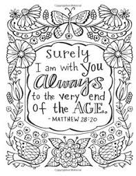 Small Picture Free Christian Coloring Pages for Adults Roundup Words