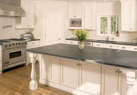 image of green soapstone countertops pink