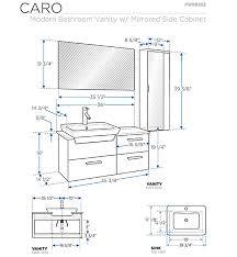 standard bathroom vanity depth elegant bathroom vanities vanity furniture cabinets rgm regarding