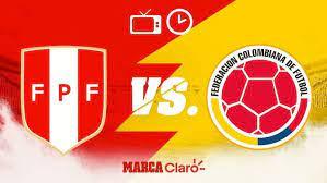 Partidos de hoy: Perú vs Colombia ...
