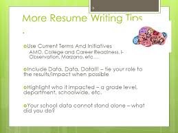 Writing Your Experiential Resume For The Intern Principal ...