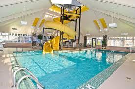 indoor pool with waterslide. Indoor Pool With Waterslide \u0026 Hot Tub M