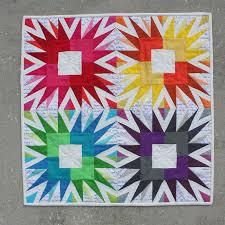 Stunning Paper-Pieced Star Blocks & Showstopper Quilt Block Pattern Adamdwight.com