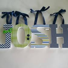 wood letter wall decor awesome wooden letters baby boy initial monogram letter wall
