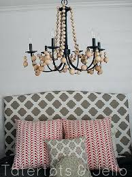 diy beaded chandelier beaded chandelier above the bed diy wooden beaded chandelier