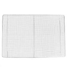 16 x 24 full size footed cooling rack for bun sheet pan
