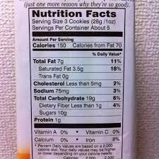 goldfish food label whole grain inside nutrition for facts goldfish food label nutrition