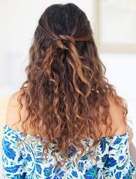 Hairstyle For Curly 9 easy onthego hairstyles for naturally curly hair byrdie uk 2791 by stevesalt.us